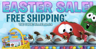 veggie tales easter veggie tales coupon code free shipping easter sale