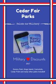 Does Six Flags Do Military Discount 2017 Military Discounts Outside Of Disney Part 3 Cedar Fair Parks