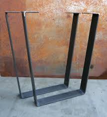 metal table legs flat bar