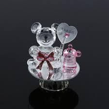 Crystal Baptism Favors Aliexpress Com Buy K5 Crystal Bear Baptism Baby Shower