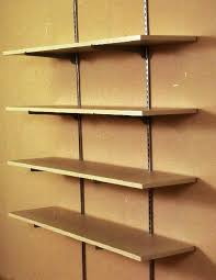 wooden wall mounted shelf designs