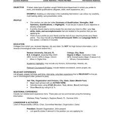 most current resume format some resume like examples of teen resumes sample resume template