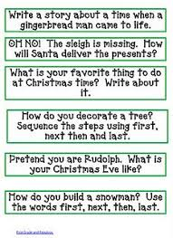 christmas writing prompts task cards christmas writing prompts