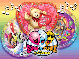 singing balloons delivery sing a tune singing foil balloons are here brought to you by