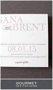 Letterpress Invitations Typography Letterpress Invitations Gourmet Invitations