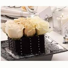 black and white centerpieces black and white flowers weddings centerpieces