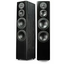 floor standing speakers for home theater svs prime tower black ash 3 way floorstanding speakers pair