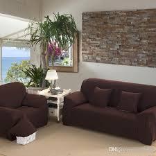 sofa cover stretch fabric elastic corner solid color slipcover 1 2