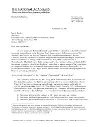 Special Power Of Attorney Draft by Letter Report Technical Input On The National Institutes Of