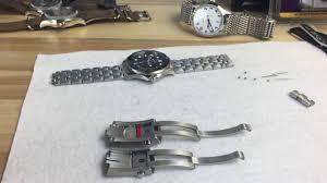 adjustable bracelet clasps images Omega seamaster 300 professional ceramic adjustable clasp upgrade jpg