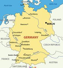 France On A Map by Download Germany On A Map Major Tourist Attractions Maps