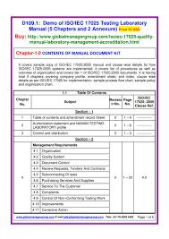 iso iec 17025 quality manual pdf flipbook