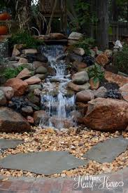 Backyard Water Feature Ideas Pondless Waterfall Water Features Pond And Water