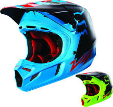 blue motocross gear fox racing v4 libra w mips mens motocross helmets 2016 fox