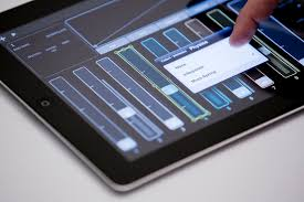 dmx light control software for ipad lemur liine