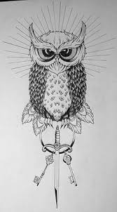 vintage owl tattoo designs aliexpress com buy temporary vintage