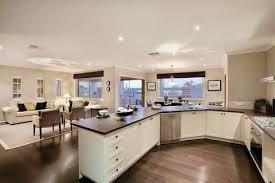 deco maison cuisine ouverte décoration cuisine américaine cuisine en image