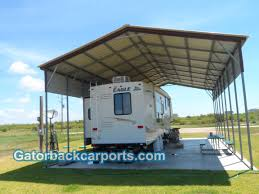 Garage With Carport Gatorback Carports U2013 Rv Carports Rv Covers Rv Garages