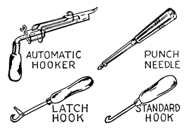 Rug Hooking Tool Super Cool Ideas Rug Hook Innovative Rag Rug Hook Tool For Sale