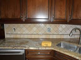 Kitchen Backsplash Installation by Chic Tumbled Stone Backsplash 2 Tumbled Stone Backsplash