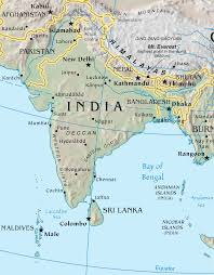 Map Of India Physical Blank by Atlas Of India Wikimedia Commons