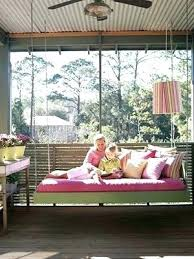 swinging porch beds inspiration gallery from great and fun ideas