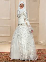 wedding dress for muslim beading lace sleeves muslim wedding dress 11598015 muslim