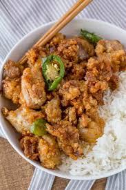 asian dish ring holder images Crispy hawaiian garlic chicken dinner then dessert jpg