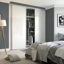 Single Mirror Closet Door Interior Sliding Mirror Closet Doors White Panel Sliding Wardrobe
