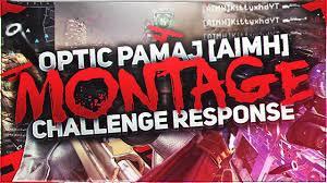 Challenge Montage Faze Optic Pamaj S Aimh Montage Challenge Response 1st