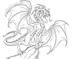 gremlins coloring pages regal dragon lineart by ember eyes deviantart com on deviantart