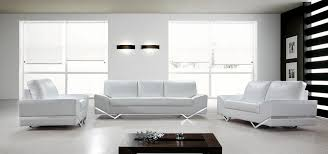 White Leather Sofa Recliner Sofa Set White Jaguar Leather Sofas Modern Pure For Living Room