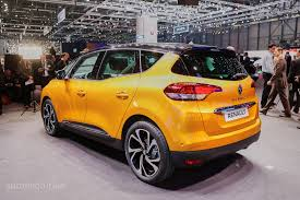renault scenic 2017 white all new renault scenic is an overdesigned mpv with crossover looks