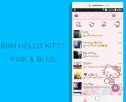 bbm mod kitty pink blue v3 0 125 terbaru download
