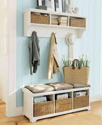 Small Entry Ideas Bench Top Stylish Narrow Entry With Regard To House Decor Storage
