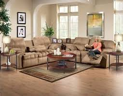 sectional sofas with recliners and cup holders the mink sectional sofa group by woodhaven features a three piece