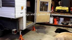 Rv Renovation Ideas by Remodeling An Old Truck Camper Youtube