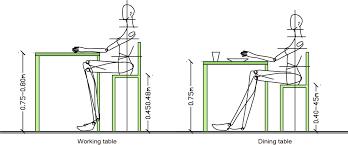 Standard Dining Room Table Height | tektune info media standard dining room table heig