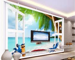 compare prices on wallpaper for outside online shopping buy low 3d wall murals wallpaper for walls 3 d wallpaper outside the window of the beach cartoon
