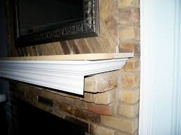 dear internet here u0027s how to build a fireplace mantel do or diy
