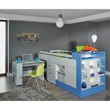 letto a con scrivania letto a soppalco con scrivania komi 200x90 cm letti a soppalco