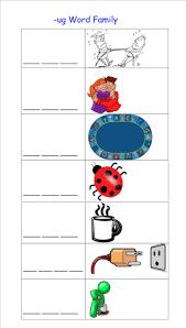 smart exchange usa ug word family worksheet
