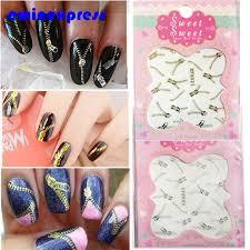 online get cheap false nails design lines aliexpress com