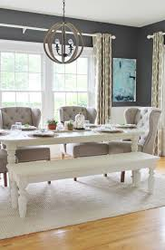 Rustic Modern Dining Room Tables by Best 20 White Dining Rooms Ideas On Pinterest Classic Dining