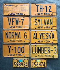 Nys Vanity Plates New York State 10 License Plates Volunteer In Foreign Wars