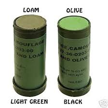 amazon com nato camo face paint stick light green u0026 loam