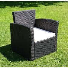 mobilier de jardin en solde salon de jardin pas cher en resine tressee qaland