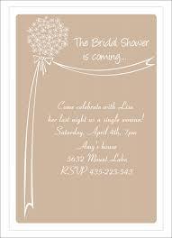 bridal shower invitation template wedding shower invitations free templates sle bridal shower