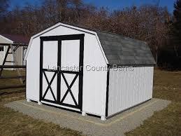 Black Barns Storage Structures T1 11 Standard Design Mini Barn Storage Sheds