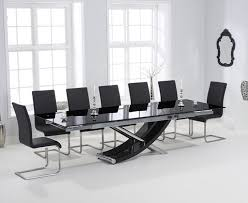 Black Glass Extending Dining Table Extending Glass Dining Table And Chairs Smart Furniture
